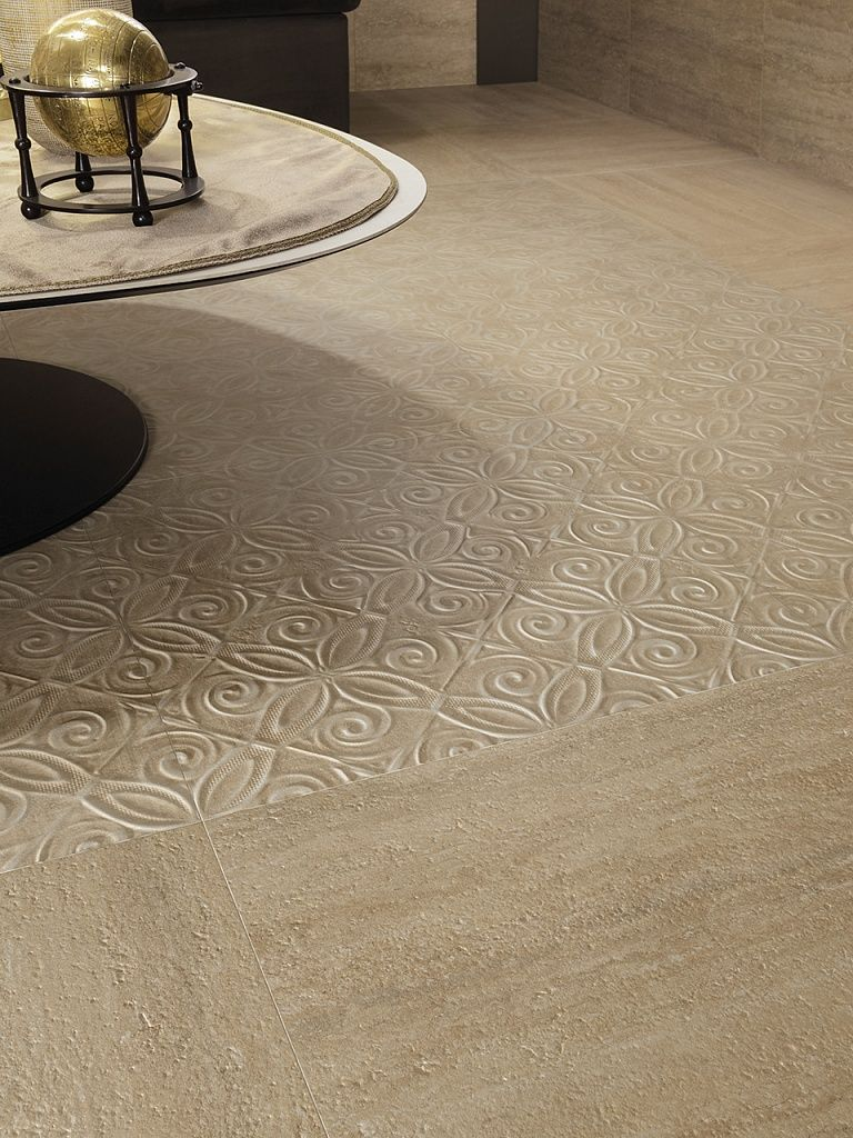 Travetine floor tiles