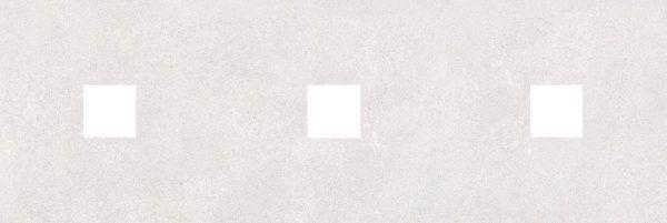 Декор (с 3-мя вырезами 4,6х4,6) серый