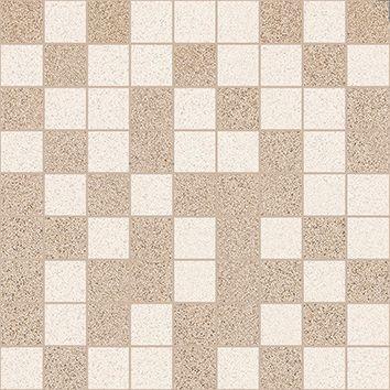 Мозаика т.бежевый+бежевый 30х30