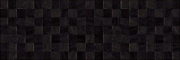 Eridan Плитка настенная чёрный мозаика 17-31-04-1172 20х60