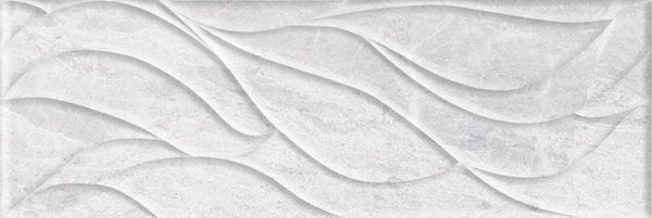 Pegas Плитка настенная серый рельеф 17-10-06-1179 20х60