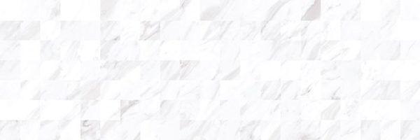 Terma Плитка настенная белый мозаика 17-30-01-1194 20х60