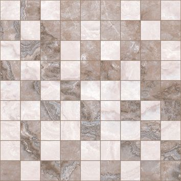 Мозаика 30х30 коричневый+бежевый