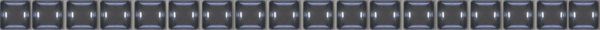 Stripes Бордюр бусинка черный 1,3х20