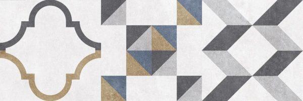 Alabama Плитка настенная микс серый 60078