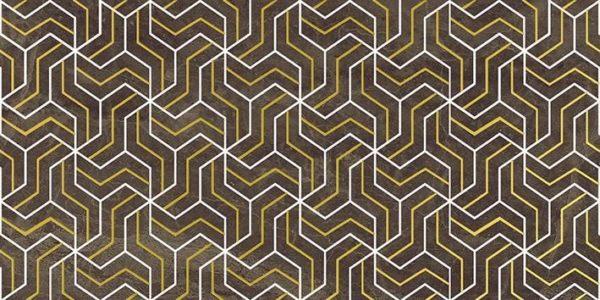 Crystal Fractal Декор коричневый