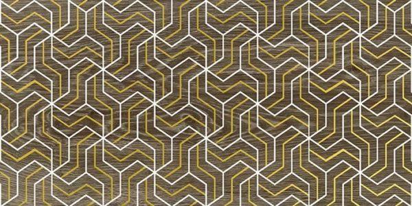 Genesis Fractal Декор коричневый