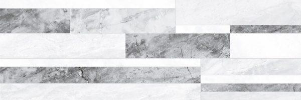 Royal Плитка настенная микс серый 60086