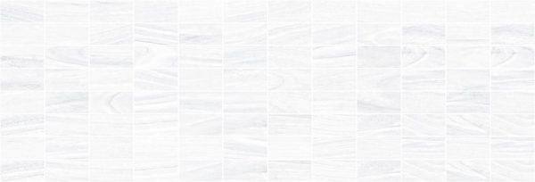 Zen Декор мозаичный белый MM60070
