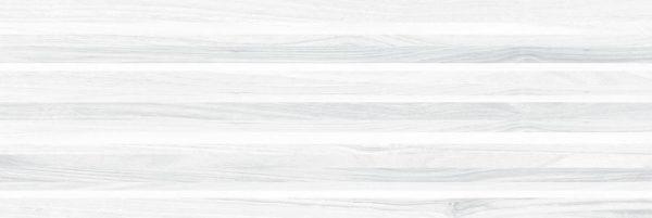 Zen Плитка настенная полоски белый 60038