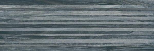 Zen Плитка настенная полоски чёрный 60034