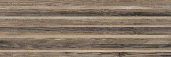 Zen Плитка настенная полоски коричневый 60030