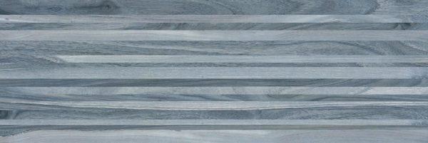 Zen Плитка настенная полоски синий 60032