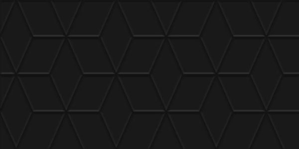 Tabu Плитка настенная чёрный рельеф